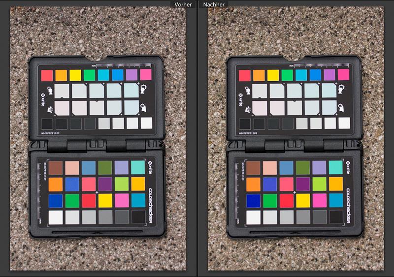 Foto zum Blogartikel - Kamerakalibrierung - Colorchecker von X-Rite