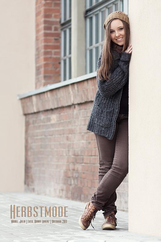 Foto zum Blogartikel - Herbstmode – Outdoor mit Julia