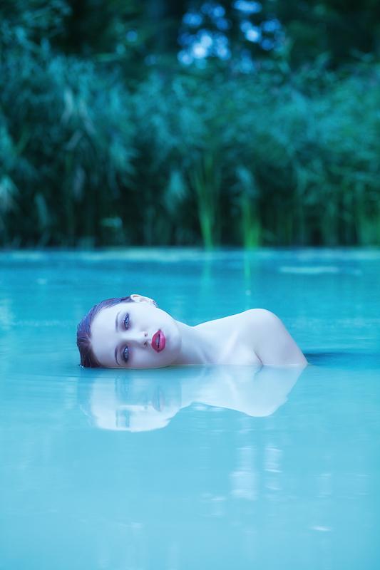 Foto zum Bogartikel - Und wieder ging es ins Wasser