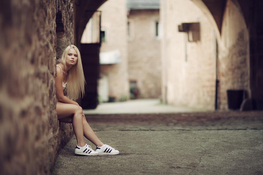 Foto zum Blogartikel - Sahra, Julia, Gerd - Auf Schloss Steinau