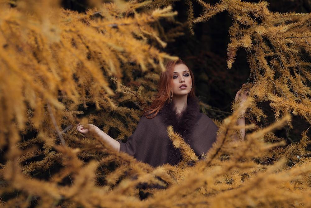 Portrait von Julia im Roten Moor