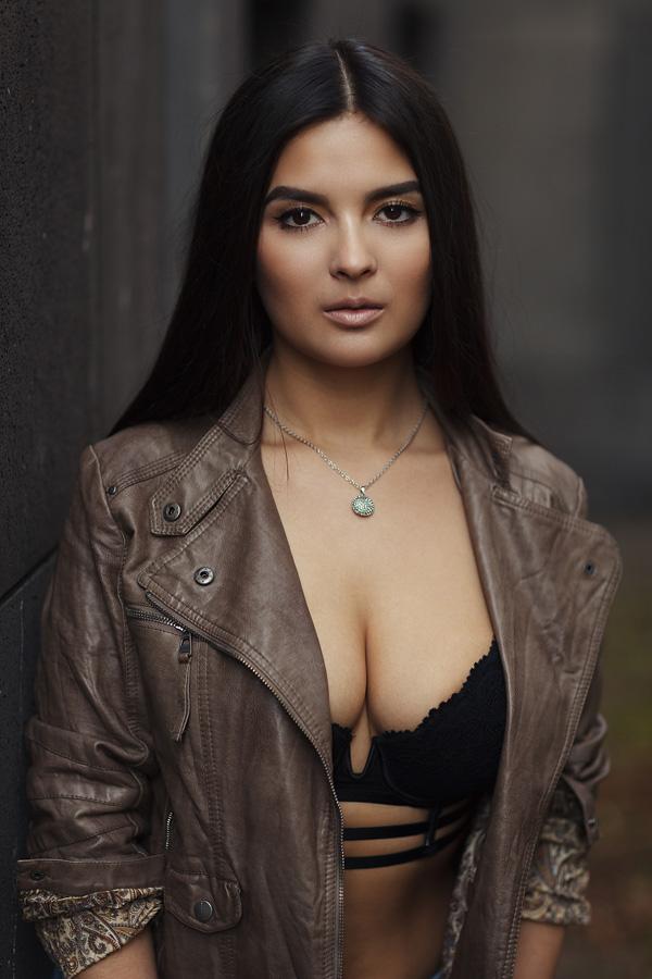 Portraitaufnahme von Vanessa