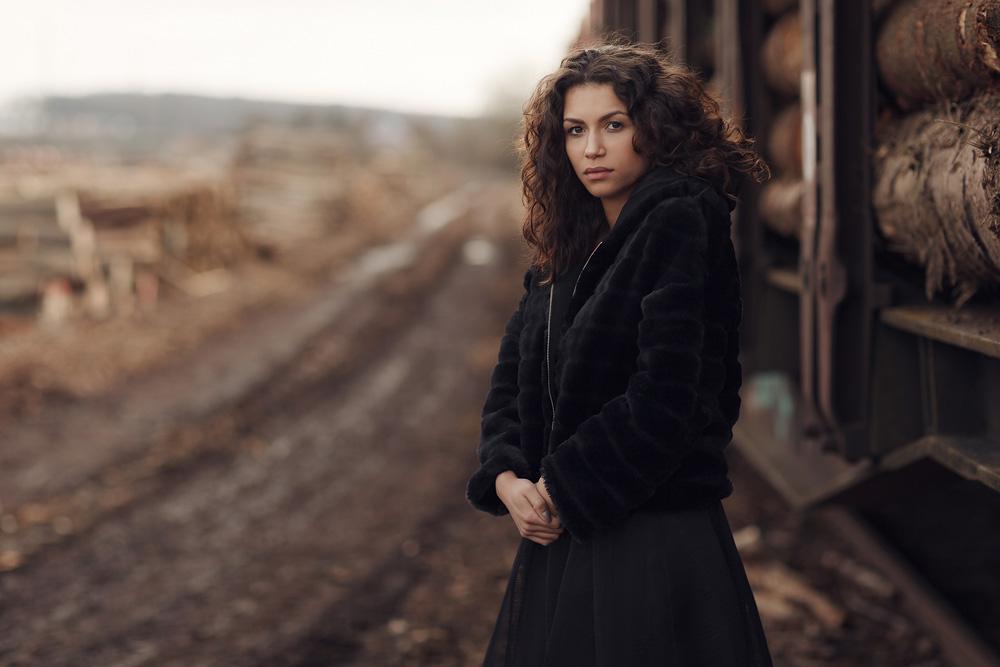 Portraitaufnahme von Derya