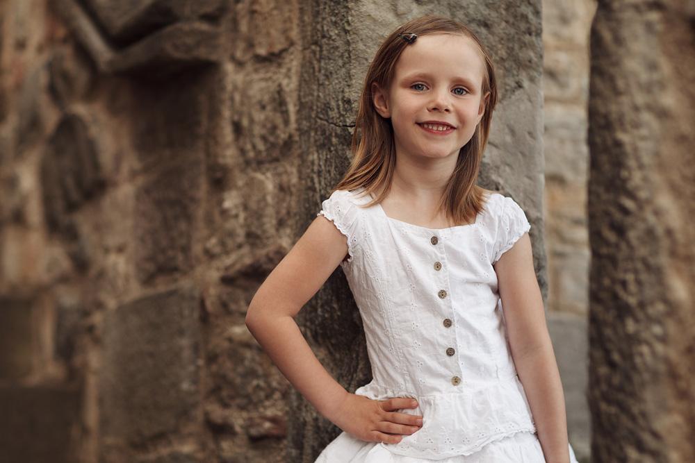 Kinderportrait von Fabienne