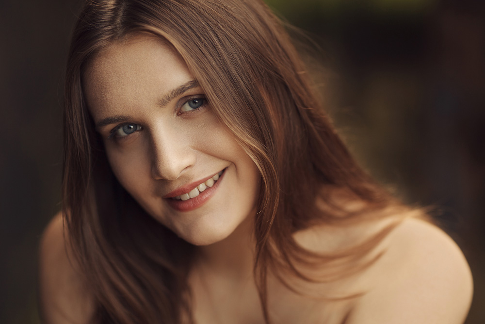 Portrait von Patrizia - Available Light