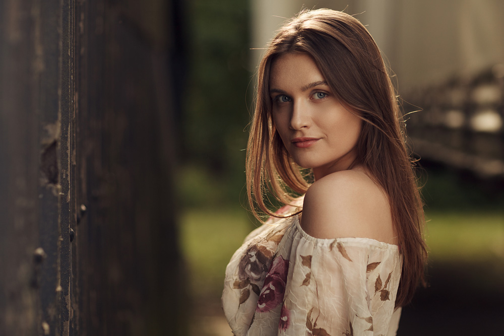 Portrait von Patrizia - Natural Light