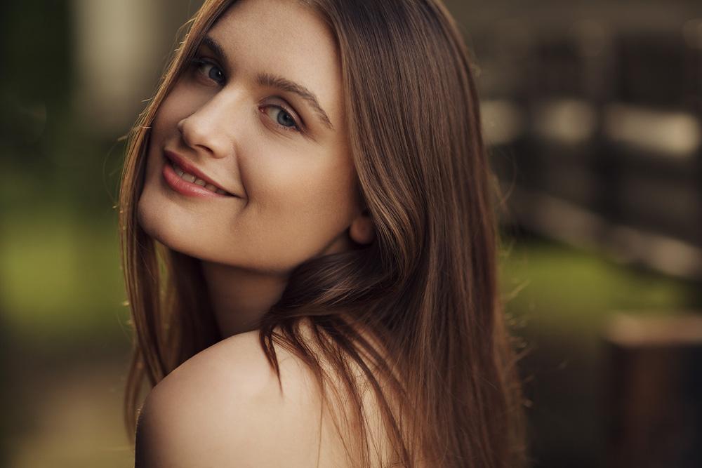Portrait von Patrizia - Available Light