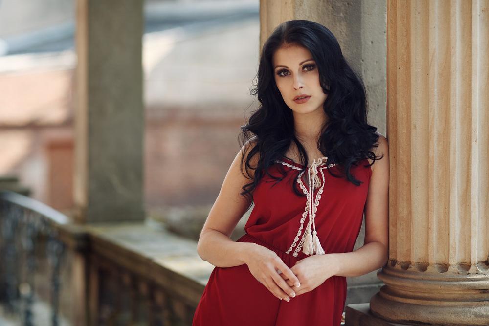 Portraitaufnahme von Natalie