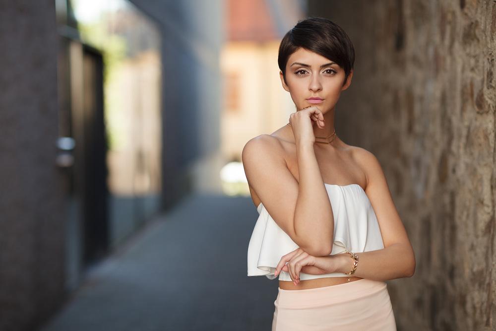 Portraitaufnahme von dem türkischen Model Filiz