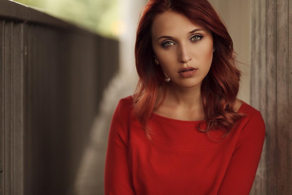 Portrait von Julia