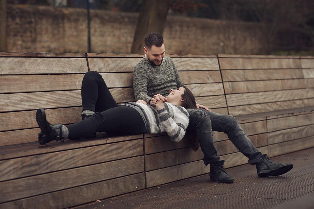 Paarshooting im Schlosspark Fulda mit Melina & Simon