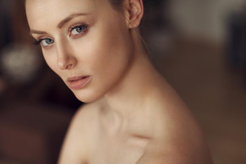 Portrait mit natürlichen Licht von Rebecca