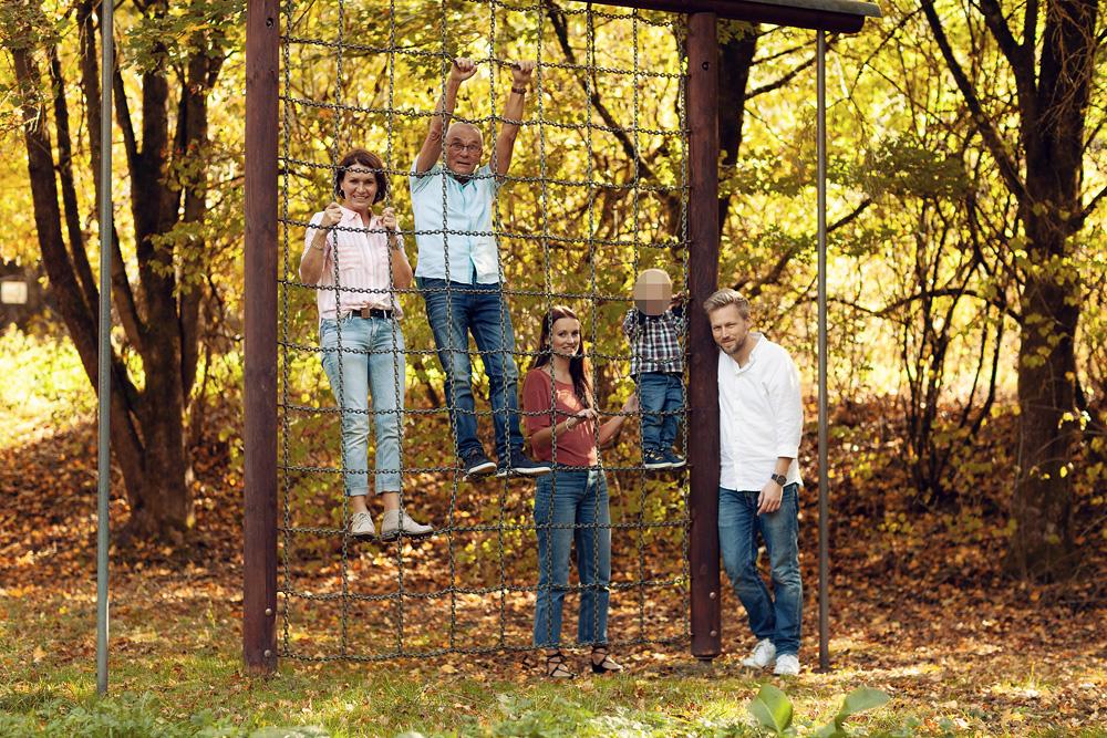 Familienshooting auf der Fohlenweide in Hofbieber