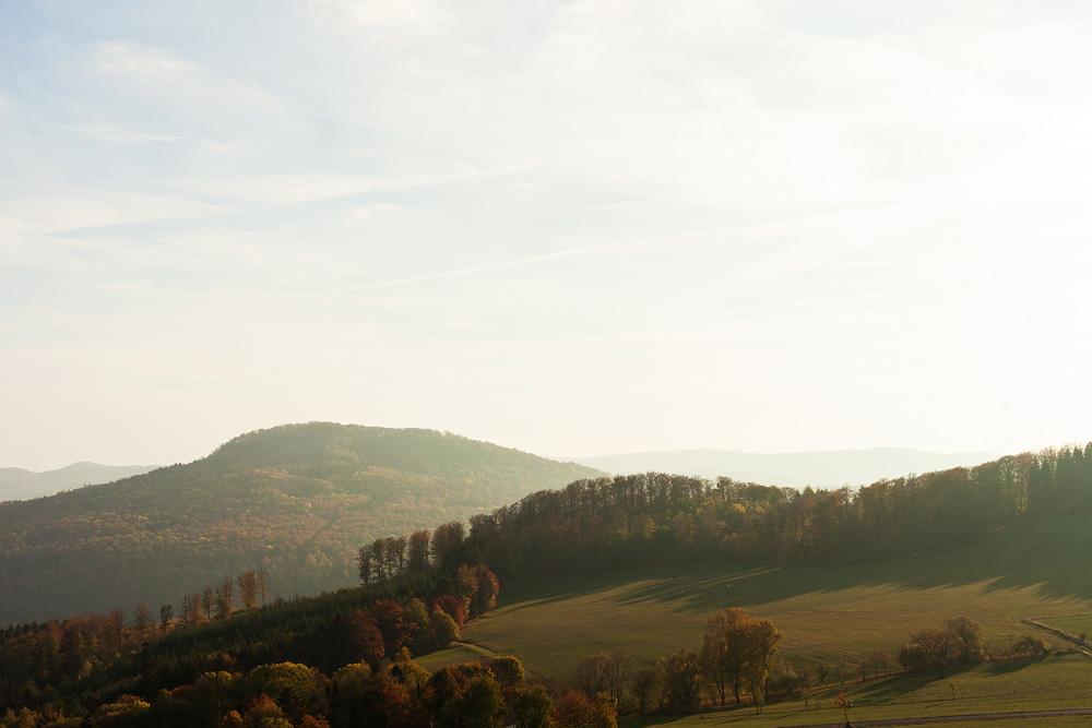 Landschaftsbild von der Rhön