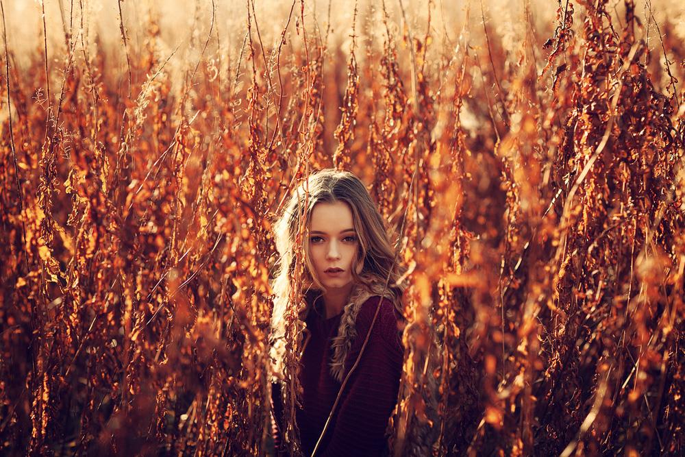 Mit Madeline im Schwarzen Moor in der Rhön